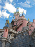 Castle Disneyland Παρίσι πριγκήπισσας Στοκ Φωτογραφία