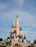 Castle Disneyland Παρίσι Στοκ Φωτογραφίες