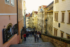 The Castle District in Prague royalty free stock photo