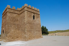 Castle Doña Blanca Royalty Free Stock Photography