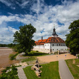 Castle in Dobrichovice Royalty Free Stock Photos