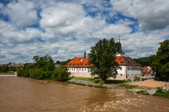 Castle in Dobrichovice Royalty Free Stock Image