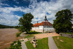 Castle in Dobrichovice Stock Photos