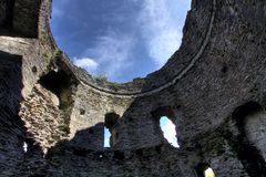 Castle Dolbadarn Keep Stock Image