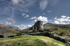 Castle Dolbadarn Keep Royalty Free Stock Image