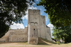 Castle and donjon of the French city of loches, france, Loire va Stock Photography