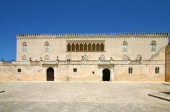 Castle of Donnafugata in Sicily Stock Image
