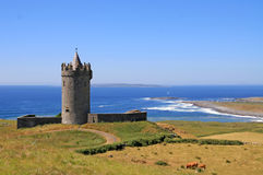Castle in Doolin Stock Images