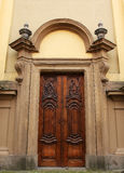 Castle door stock photography