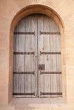 Castle door. An old door of a castle Royalty Free Stock Image