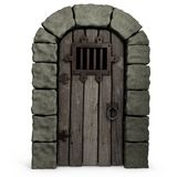 Castle Door. Royalty Free Stock Image
