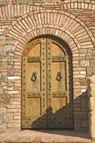 Castle door Stock Images