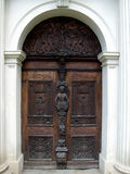 Castle Door. Front entrance of Hermsdorf Castle Royalty Free Stock Photos