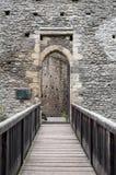 Castle door. Royalty Free Stock Images