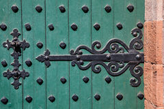 Castle Door Hinge Royalty Free Stock Photo