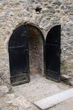 Castle door. Royalty Free Stock Photo