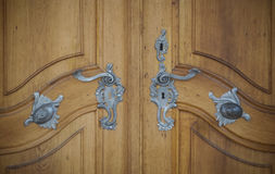 Castle door royalty free stock photography