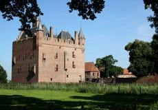 Castle Doornenbrg in Gelderland Stock Photography