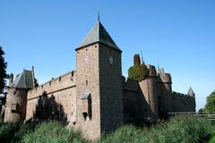 Castle Doornenbrg in Gelderland Royalty Free Stock Image