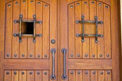 Castle Doors Stock Photography