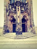 Castle doors Royalty Free Stock Image