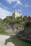 Castle of Doria. Dolceacqua, Italy Royalty Free Stock Image