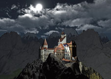 Castle of Dracula Royalty Free Stock Image