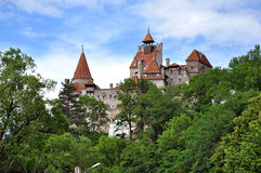 The castle of Dracula. Bran, Transylvania, Romania Royalty Free Stock Images