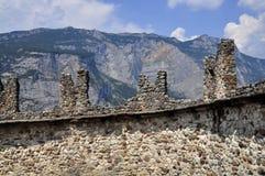 Castle Drena Royalty Free Stock Images