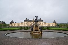 The castle of Drottningholm Stock Image