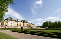 The castle Drottningholm. Royalty Free Stock Photos