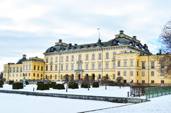 Castle of Drottningholm in Stockholm - Sweden Stock Photos