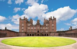 Castle Drumlanrig Stock Photography