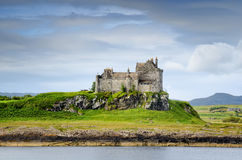 Castle-Duart. Duart Castle, Isle of Mull, Scotland Stock Photo