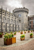 Castle in Dublin Royalty Free Stock Images