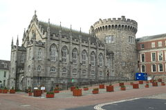 Castle in Dublin Royalty Free Stock Photos