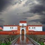 Castle in Dubno Stock Image