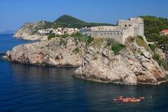 Castle in Dubrovnik Stock Image