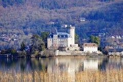 Castle Duingt Στοκ Εικόνα