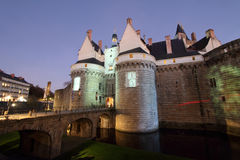 Castle of the Dukes of Brittany (Nantes - France) Stock Images