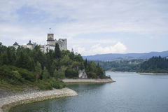 Castle on a Dunajec River Royalty Free Stock Image
