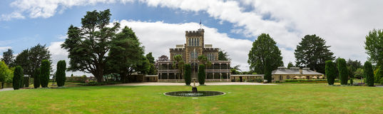 Castle in dunedin otago peninsula Royalty Free Stock Photos