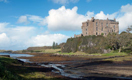 Castle Dunvegan stock image