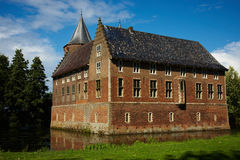 Castle in a Dutch country Stock Photos