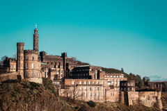 Castle in Edinburgh, Scotland, United Kingdom Royalty Free Stock Images