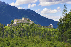 Castle Ehrenberg Tyrol Royalty Free Stock Photo