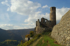 Castle Ehrenfels Stock Photos