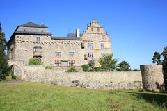 The Castle Eisenbach in Hessen, Germany Royalty Free Stock Photos