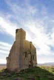 Castle of El Bayo(Aragon) in a summer day Stock Photo