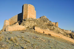 Castle of El Burgo de Osma, Soria (Spain) Royalty Free Stock Photography